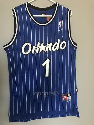 NWT Penny Hardaway 1 NBA Orlando Magic Swingman Throwback Jersey Man Blue