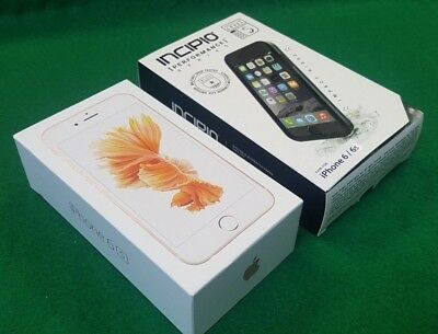New Inbox Apple iPhone 6s - 64GB - Rose Gold GLOBAL GSM Unlocked- BUNDLE DEAL