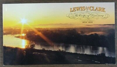 Scott 3856 Lewis And Clark Mint Booklet  F- V- 7-40