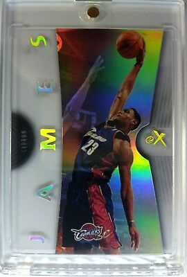 2006 07 0607 FLEER EX LeBRON JAMES ACETATE 6 Rare Premium Cavs