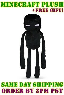 Minecraft Enderman Plush Toy - NEW - FREE FAST USA SHIPPING