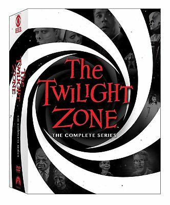 Twilight Zone The Complete Series DVD 2016 25-Disc 156 Episodes