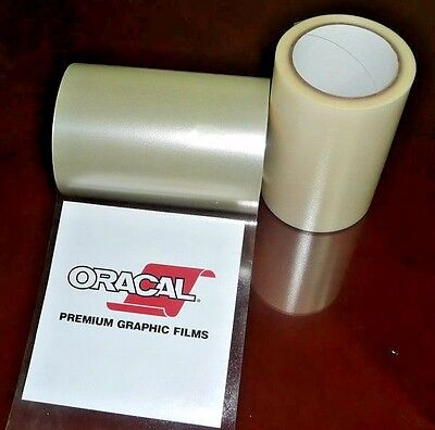 12 in X 50ft Frisco CraftClear Application Transfer Tape for Sign Craft Vinyl