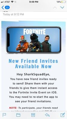 Fortnite mobile code