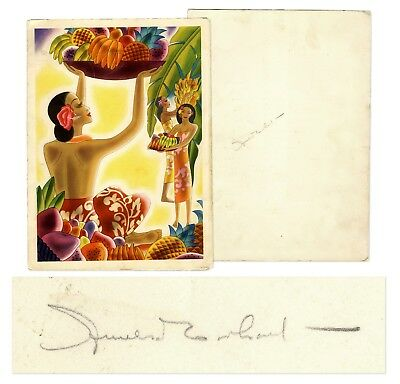 Amelia Earhart - SS Malolo Menu Signed - Three Months Before Her Disappearance