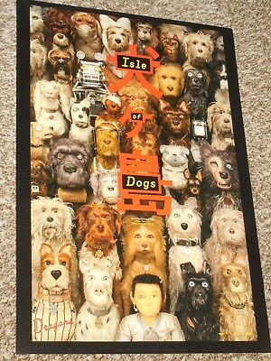 Isle of Dogs A ex 13-5x20 Promo Movie POSTER