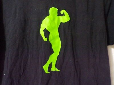 Arnold Schwarzenegger Series Muscle Pharm Build Your Legacy Black T Shirt