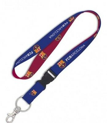 FC Barcelona Lanyard 1x17 Inches Free Shipping Blues Detachable Buckle Messi