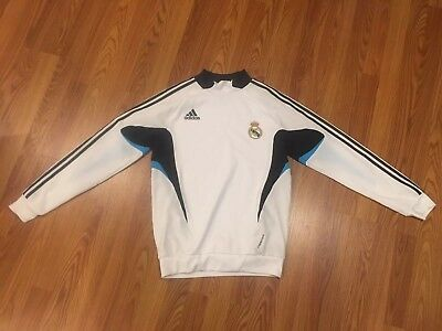 Real Madrid Soccer Adidas Long Sleeve Jersey
