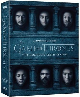 Game of Thrones 6 The Complete 6th Season 6 DVD brand new fast free shipping