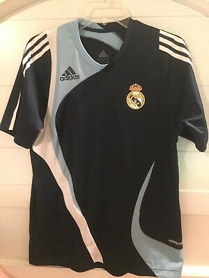 Real Madrid Training Shirt Adidas Adult Small