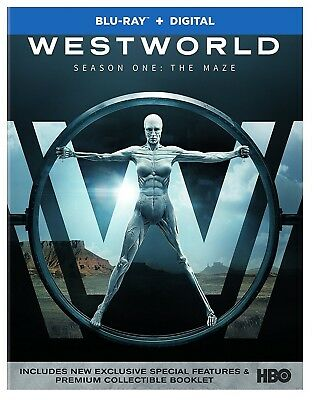 Westworld The Complete First Season Blu-ray BRAND NEW SEALED