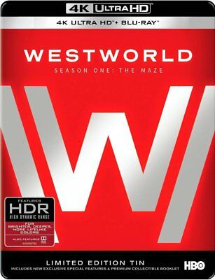 Westworld The Complete First Season 4K Ultra HD Limited Edition Tin