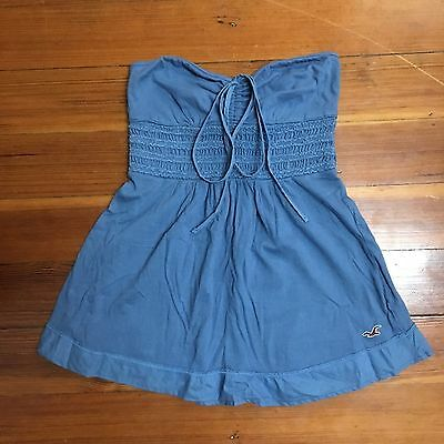 Hollister Co- Blue Tube Top Size XS