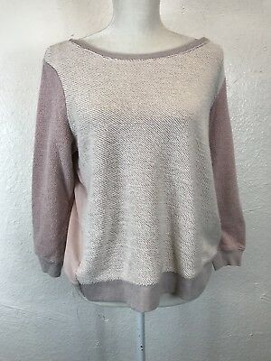 American Eagle Outfitters Womens Knit Cross Back 34 Sleeve Top Size Medium