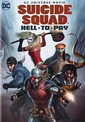 Suicide Squad Hell to Pay DVD 2018 sealed new free shipping
