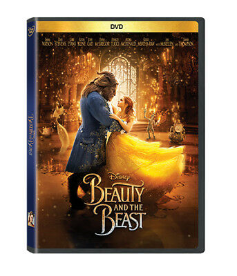 Beauty and the Beast DVD 2017 Emma Watson New - Sealed plus Free Shipping