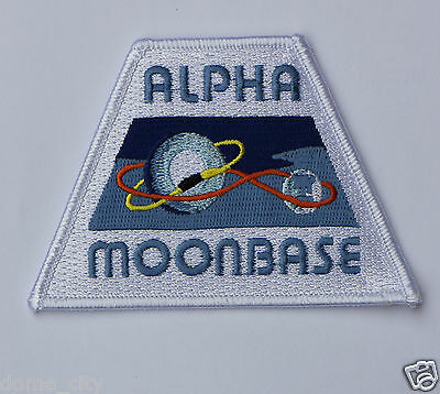 Space 1999 Alpha Moonbase Patch NEW  Gerry Anderson Eagle 1 one Hawk