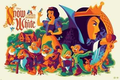 Snow White  REG limited Mondo Tom Whalen  RUN OF ONLY 395- SOLD OUT