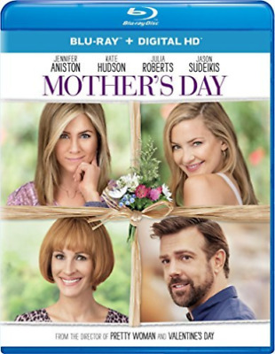 Mothers Day Blu-ray - Digital HD Jennifer Aniston Kate HUDSON Julia Roberts