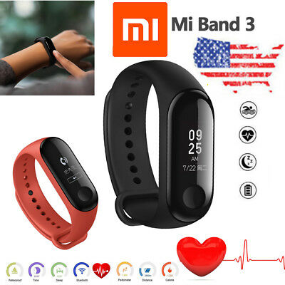 ORIGINAL Xiaomi Mi Band 3 Smart Wristband Watch OLED Touch Screen 50m Waterproof
