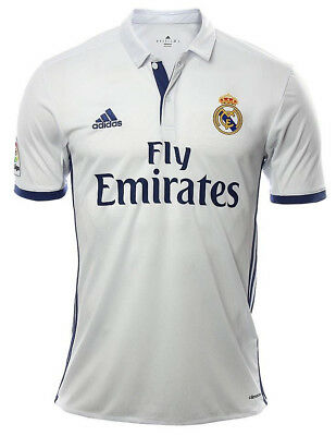 ADIDAS REAL MADRID JERSEY LOCAL 2016 - 2017 SHORT SLEEVE ORIGINAL S to XL NWT