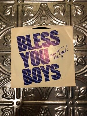 Detroit Tigers 1984 Bless You Boys WORLD SERIES 45 record MINT
