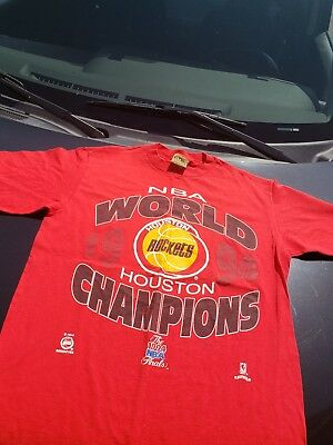 Houston Rockets Nba champions 1994 medium t shirt Rare Vintage basketball jersey