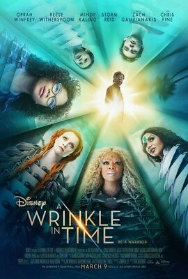 A Wrinkle in Time Dvd Reese Witherspoon Oprah Winfrey Chris Pine