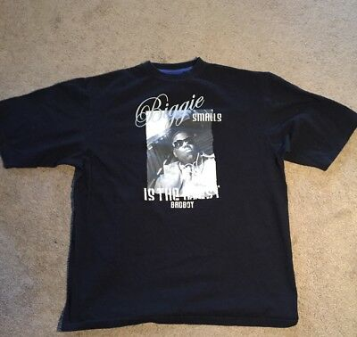 Vintage Biggie Smalls Notorious BIG 1993 Bad Boy Records t shirt Concert Shirt