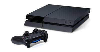 Sony PlayStation 4 PS4 - 500 GB Jet Black Console System with Controller