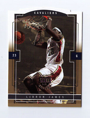 2003-04 Skybox LE Lebron James Gold Proof Rookie RC RARE 150 Lakers