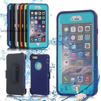 Waterproof Shockproof Dirt Proof Heavy Duty Case Cover For iPhone X 8 7 6s Plus