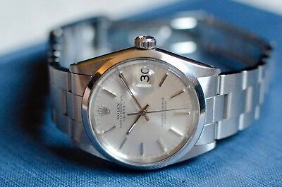 Rolex Date Oyster Perpetual Date 1500 Silver dial