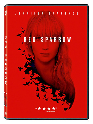 RED SPARROW DVD 2018 Jennifer Lawrence-NEW Free Shipping