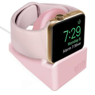 Apple Watch 38mm - 42mm Night-Stand Holder Cradle in Pink by Orzly®