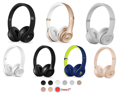 BEATS by Dr- Dre - Solo3 Wireless - ALL COLORS - On Ear Headphones - BRAND NEW