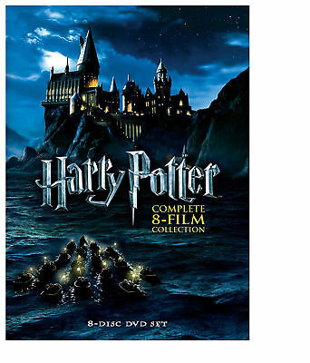 Harry Potter Complete 8-Film Collection DVD 2011 8-Disc Set USA Seller