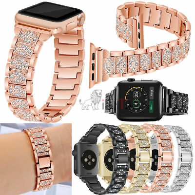 US Apple Watch Series 4 3 2 1 3842MM Stainless Steel Bracelet iWatch Band Strap