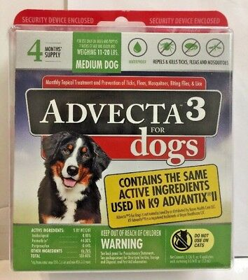 Advecta 3 Flea And Tick Treatment For Dogs and ndash Flea And Tick Medicine 4