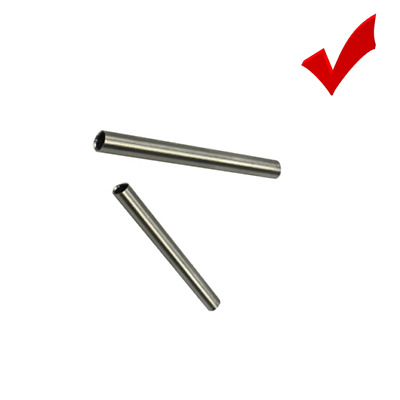 3PC 6X30MM STAINLESS STEEL TUBE COVER FOR PT100 DS18B20 TEMPERATURE SENSOR CABLE
