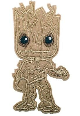 Guardians Of The Galaxy Baby Groot Figure Embr- IronSewn On 4 Patch