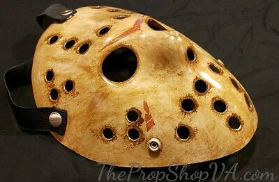 Friday The 13th Jason Voorhees Mask  - US Seller - Hand Painted In US
