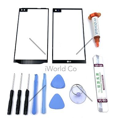 For LG V10 V20 V30 Replacement Outer Front Glass Lens Screen Display - Tools US