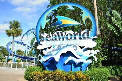 SEAWORLD ORLANDO TICKETS 65 ADMISSION  A PROMO DISCOUNT SAVINGS TOOL