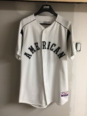2003 American League MLB All Star Game Baseball Jersey Mens Large
