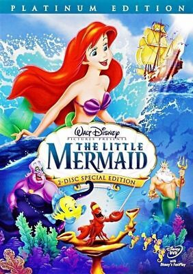The Little Mermaid DVD 2006 2-Disc Set Platinum Edition  Factory Sealed