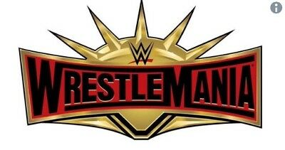 1-8 WWE WrestleMania 35 Tickets - LOWER 100 SECTION LEVEL price per ticket