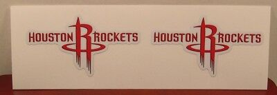2 HOUSTON ROCKETS - 2-5 DIY stickers decal GREAT for YETI