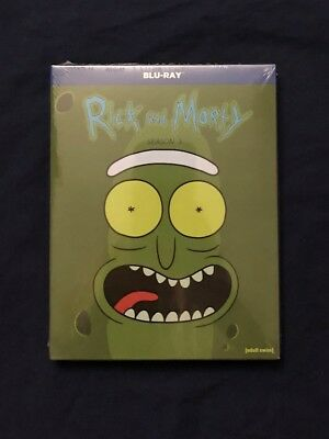 Rick and Morty Season 3 Blu-ray Free Shipping